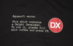Aquasoft - coffeed powered developer