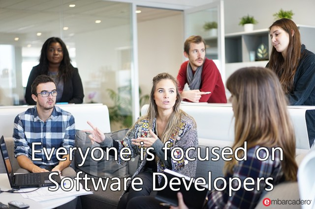 Everyone is Focused on Software Developers