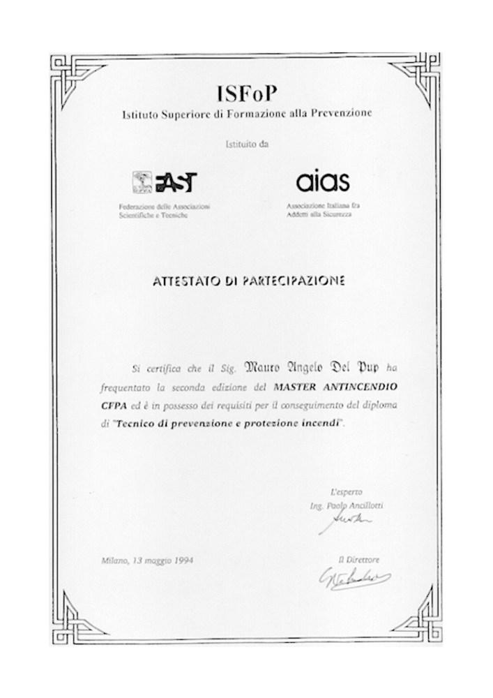 Attestati e Certificazioni (2/6)