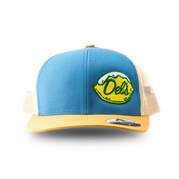 Del's Blue Trucker Hat