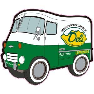 Del's Cartoon Truck June 2021