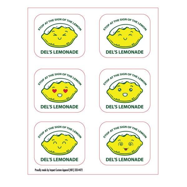 Del's Lemoticon Stickers