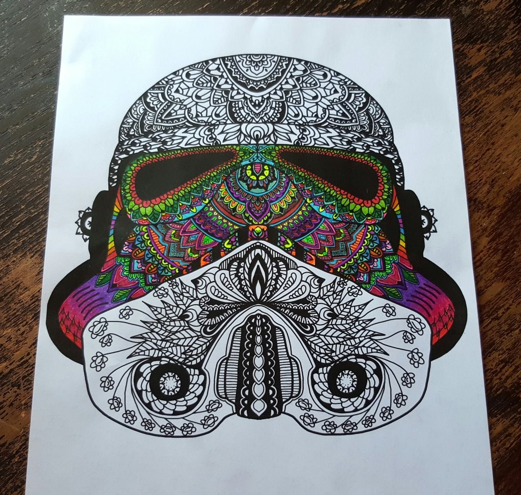 Star Wars Themed Colouring Pack