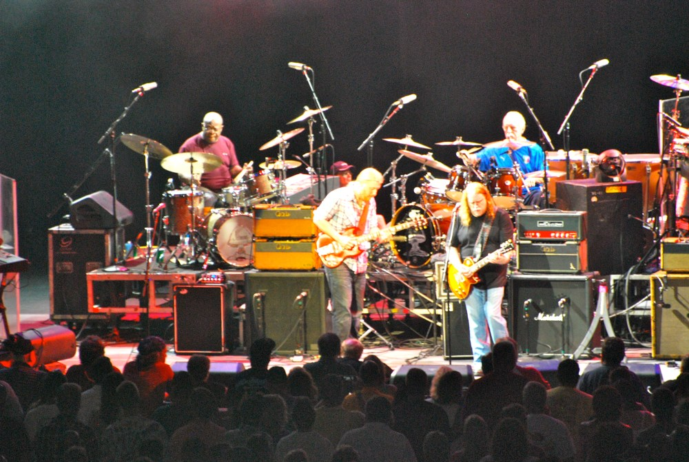 Allman Brothers and Santana at SPAC - 7/27/12 (1/5)