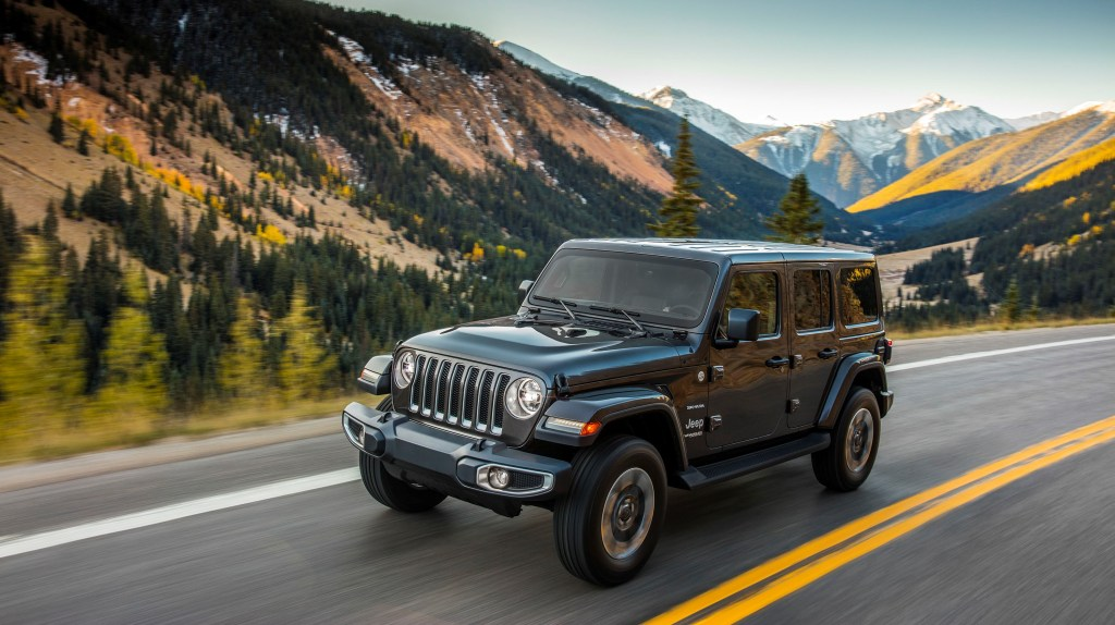 Win a Jeep for a week Go Dodge Surrey
