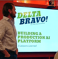 Delta Bravo Presenting At Charlotte Bots and AI Meetup