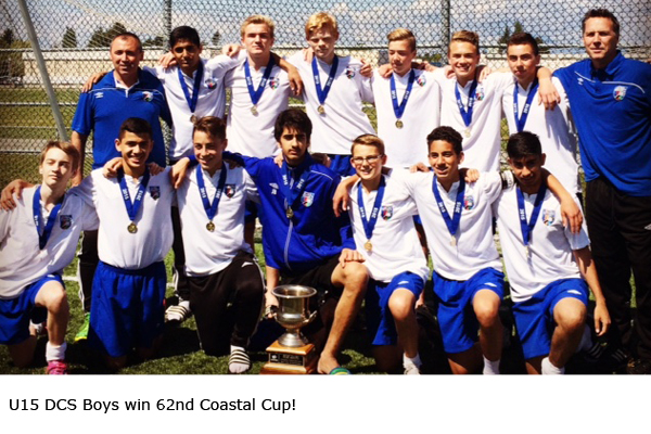 U15 DCS Boys win 62nd Coastal Cup