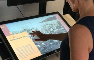 A new interactive display inside The Haggin Museum in Stockton. PHOTO COURTESY OF THE HAGGIN MUSEUM