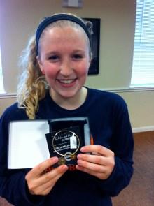 Michelle won a Tri Delta bracelet