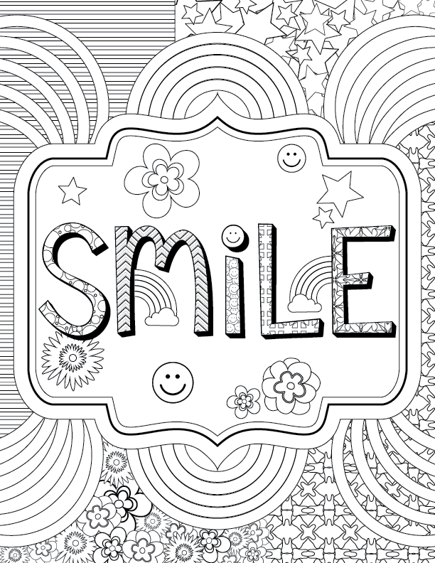 Adult Coloring for Kids at Heart + PRINTABLE PAGES! | Delta Dental ...
