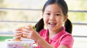 Healthy food can lead to a better performance in school.