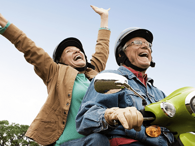 If you're living a healthy and active lifestyle, it's likely you feel much younger than your age. If that doesn't sound like you, it's possible you're not in control of your age.