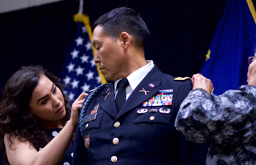 Don promoted to full colonel
