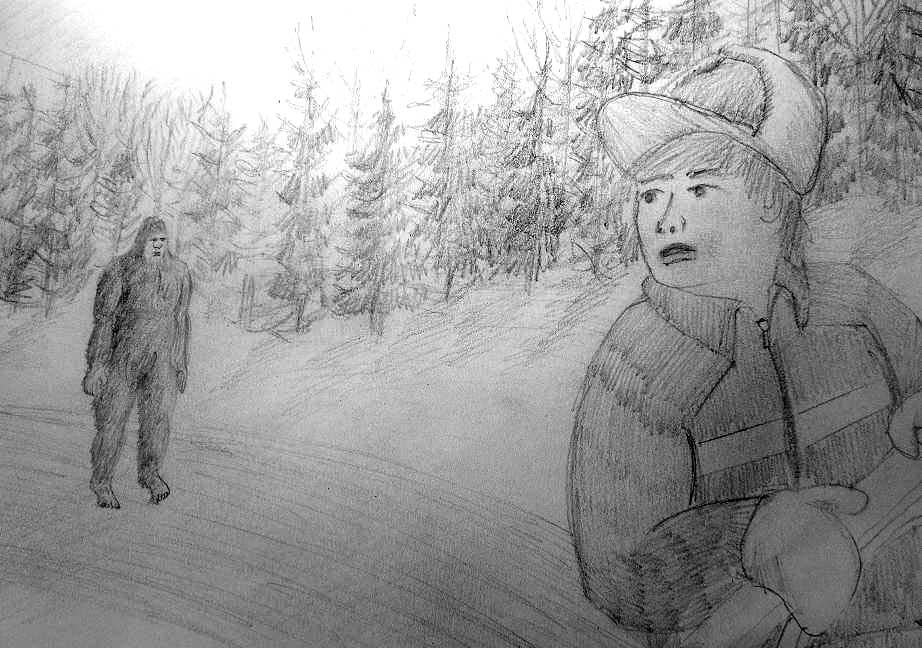1520-Young-musher-and-Bigfoot