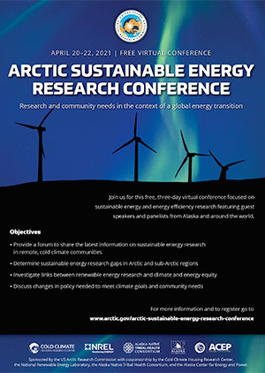 ARCTIC SUSTAINABLE ENERGY RESEARCH CONFERENCE ad