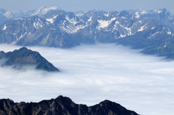 Nebelhorn Impressionen