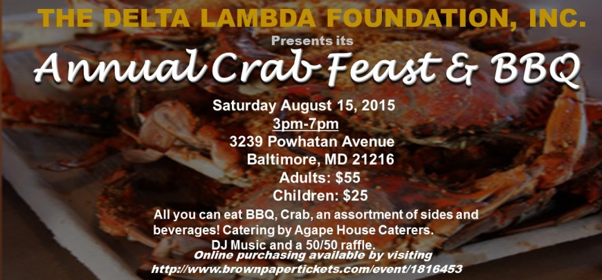 Annual Crab Feast and BBQ
