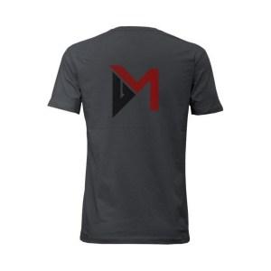 Delta Mike T-Shirt Grey Back