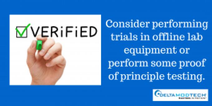 Consider trials.
