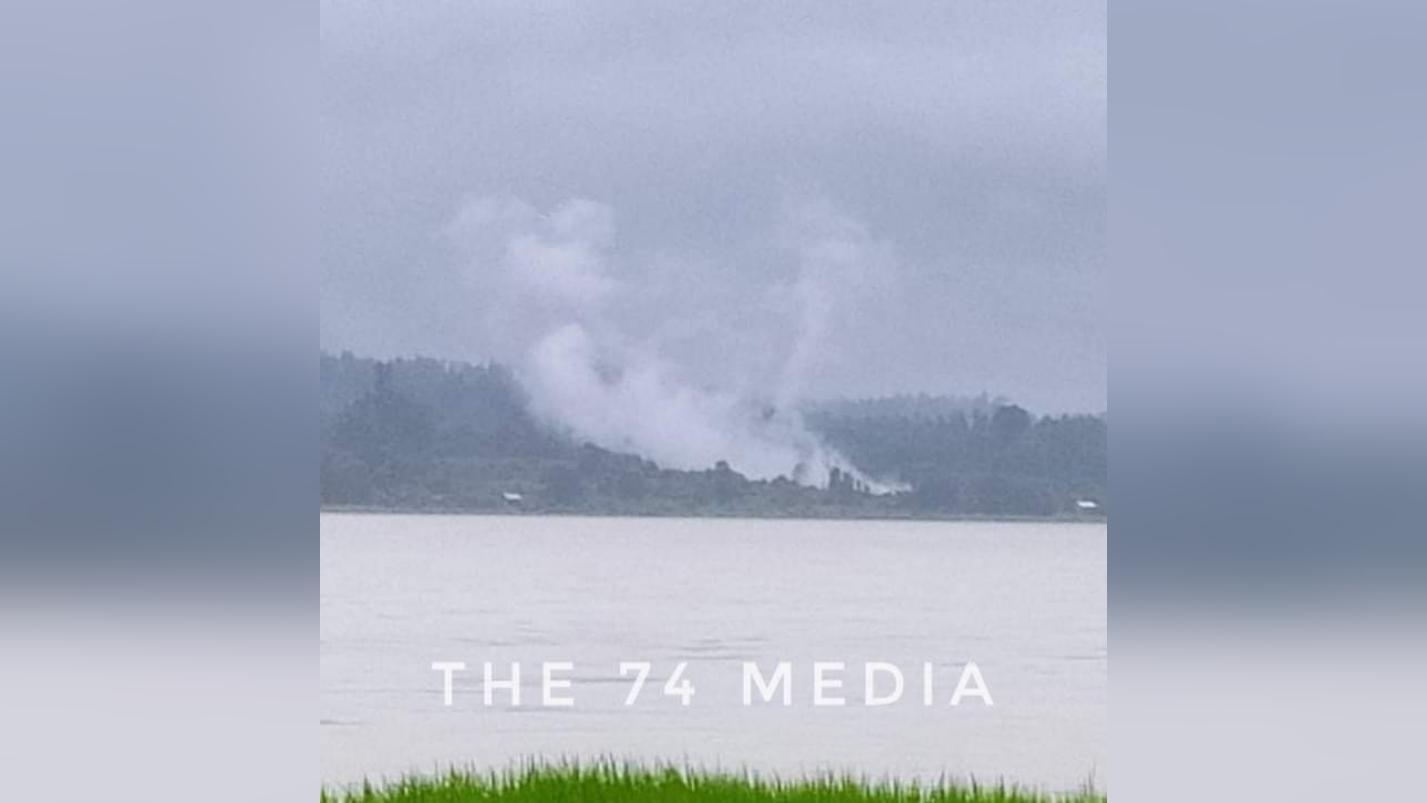 ရွှေဘုံသာအနီးမှာ အကြမ်းဖက်စစ်အုပ်စုသင်္ဘောကို KIAတိုက်ခိုက်