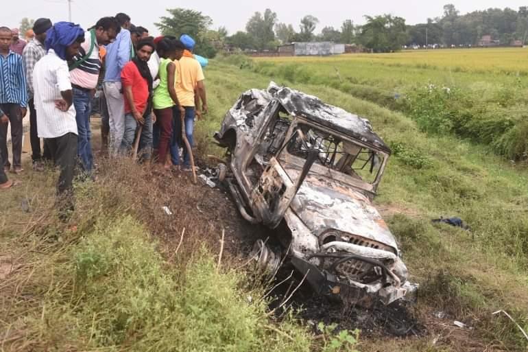 ဆန္ဒပြလယ်သမားတွေကို ကားနဲ့ တိုက်သတ်တဲ့အမှုမှာ အိန္ဒိယအငယ်တန်းဝန်ကြီးတစ်ဦးရဲ့သားဖြစ်သူ ပါဝင်