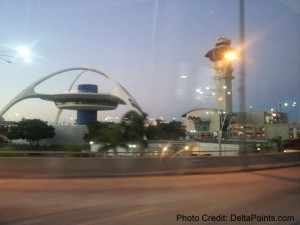 LAX airport DeltaPoints