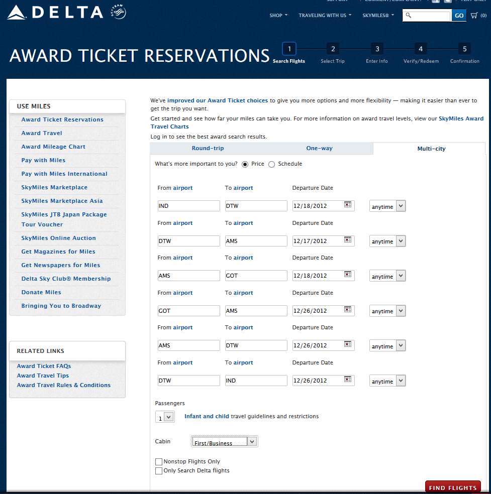 delta s how to find