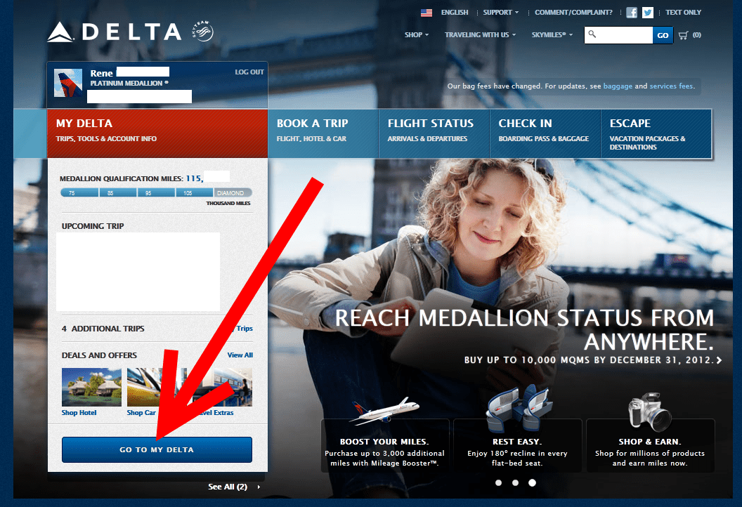 page11 known traveler number on the new delta com know where it is,Delta Precheck Invitation