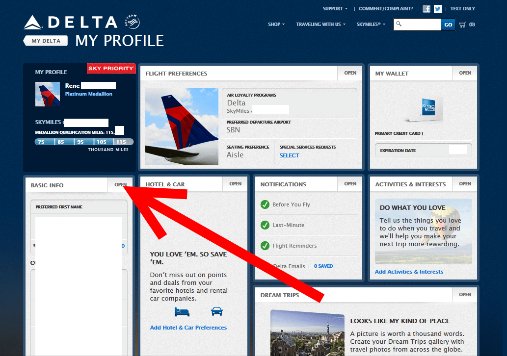 page3 known traveler number on the new delta com know where it is,Delta Precheck Invitation