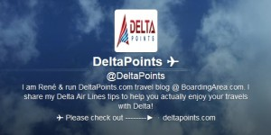 delta points blog on twitter
