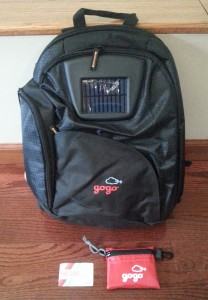gogo backpack 1time wifi plass swag delta points blog