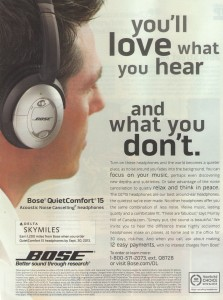 bonus skymiles from BOSE headphones sky magazine delta points blog