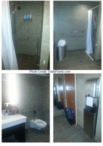 lounge club shower atlanta atl delta points blog