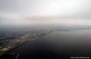 milwaukee Wisconsin from the air mke airport delta points blog