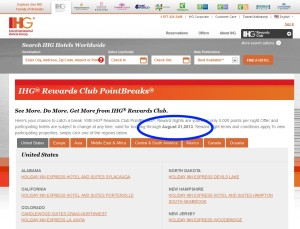new ihg point breaks list on the way soon delta points blog