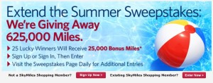 shopping mall sweepstakes 25000 x 25 skymiles winners delta points blog