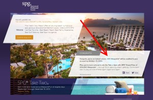 win SPG starpoints up to 250000 delta points blog