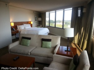Westin Atlanta Airport ATL jr Suite Delta Points blog review (2)
