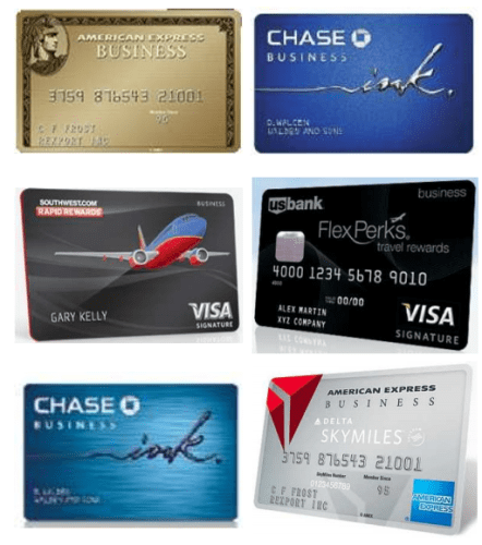 6 best oct biz cards