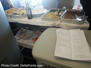 Alitalia Magnifica Class Business seat review delta points blog (15)