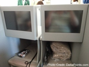 Alitalia Magnifica Class Business seat review delta points blog (9)