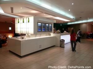 bar and food service Giotto lounge alitalia rome italy