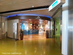 domestic side upstairs klm crown lounge amsterdam delta points blog 1