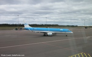 klm cityhopper erj-190 jet gothenburg sweden to amsterdam delta points blog