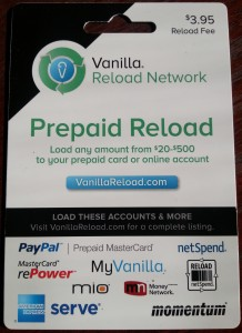 what a vanilla reload prepaid card looks like delta points travel blog