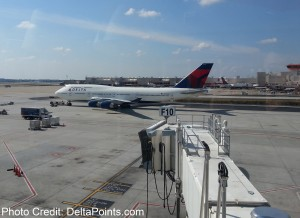 Boeing Delta 747 Atlanta ATL airport Mileage Run Delta Points travel blog rene MKE to LAX (3)