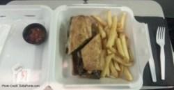 mj on travel buys rene delta points steak sandwich in jax florida on delta mileage run