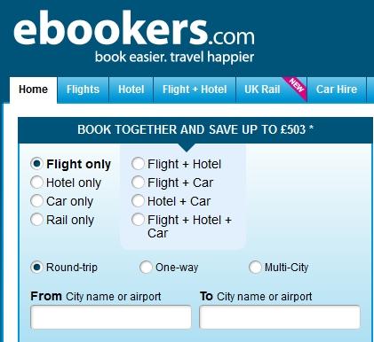 ebookers - com web site lets you book delta mistake fare