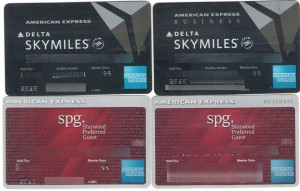 my four amex cards