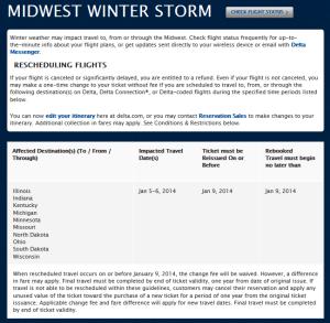 delta jan midwest storm 2014